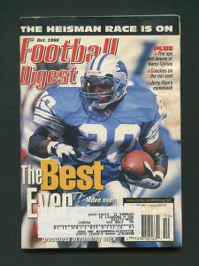 Football Digest / Barry Sanders / October 1998