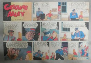(40) Gasoline Alley Sunday Pages by Frank King from 1942 Size: 11 x 15 inches