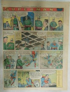 Superman Sunday Page #975 by Wayne Boring from 7/6/1958 Size ~11 x 15 inches