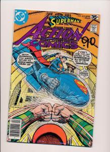 DC Action Comics #482 SUPERMAN VG/FINE (SRU163)