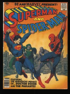 Marvel Treasury Edition #28 Superman and Spider-Man DC and Marvel Present!