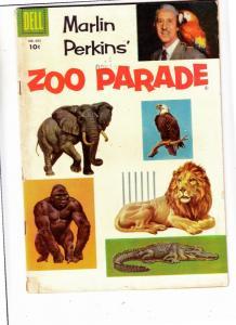 Four Color #662 (Nov-55) FN Mid-Grade Marlin Perkins
