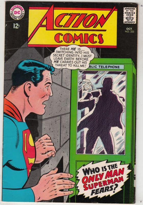 Action Comics #355 (Oct-67) VF High-Grade Superman