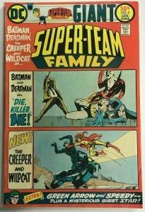 SUPER-TEAM FAMILY#2 VF 1976 DC BRONZE AGE COMICS