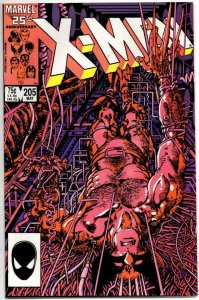 X-MEN #205, VF/NM, Wolverine, Barry Smith, Uncanny, more in store