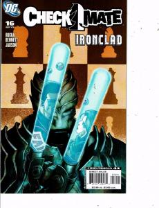 Lot Of 5 Checkmate DC Comic Books #16 17 18 19 20 Batman Superman LH21