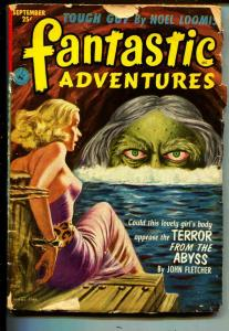 Fantastic Adventures-Pulp-9/1952-John Fletcher-Henry Walton