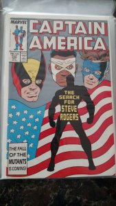 Captain America #336 (Marvel,1987) Condition NM