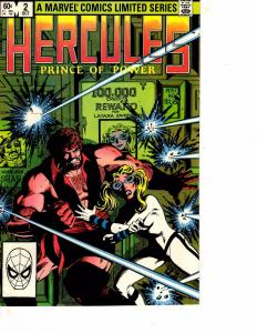Lot Of 2 Comic Books Marvel Hercules Prince of Power #2 and #3  ON11