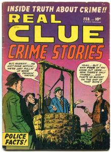 Real Clue Crime Stories Vol.5 #12 1951- Golden Age comic VG