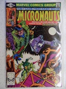 Micronauts #25 (1981)