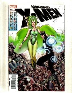 Lot Of 9 Uncanny X-Men Marvel Comics # 478 489 490 495 496 497 498 499 500 RP5
