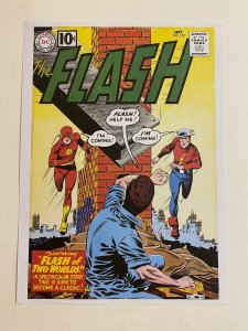 The Flash #123 DC Comics poster by Carmine Infantino