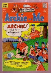 ARCHIE AND ME #17 1967-BETTY & VERONICA-REGGIE-CAMP CVR VG