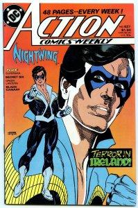 Action Comics Weekly 627 Nov 1988 NM- (9.2)