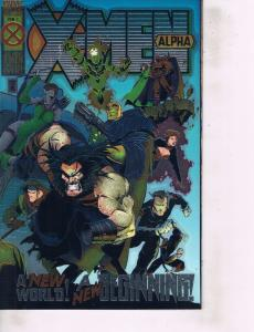 Lot Of 2 Marvel Comic Books X-Men Alpha #1 and Gambit Xternals #1 ON6