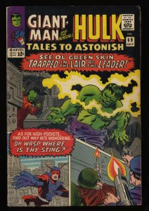 Tales To Astonish #69 FN/VF 7.0 Hulk Giant Man The Leader!