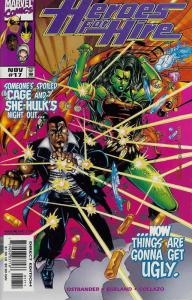 Heroes for Hire #17 VF/NM; Marvel | save on shipping - details inside