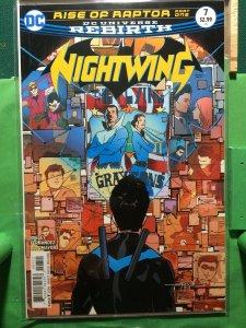 Nightwing #7 DC Universe Rebirth