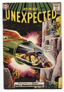 Tales Of The Unexpected #43 -1st SPACE RANGER COVER 1959-DC COMICS
