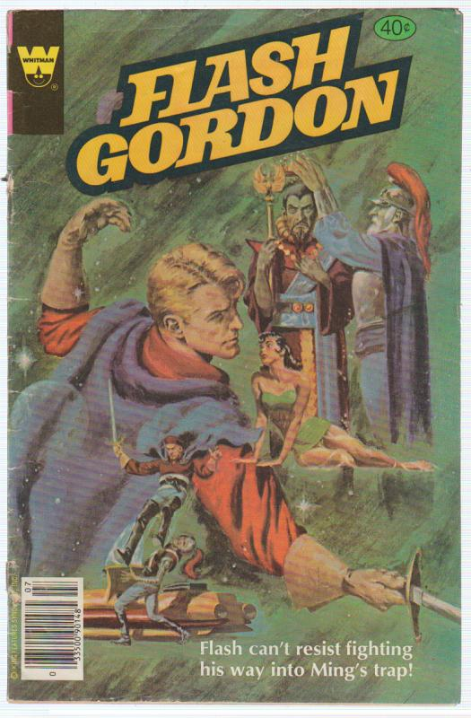 FLASH GORDON #24 1979 WESTERN PUBLISHING COMPANY (WHITMAN) CORONATION OF MING