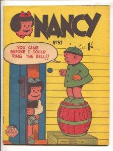 Nancy #57 1951-New Century-Ernie Bushmiller art-Famous American comics series...