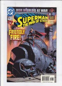 Superman: The Man of Steel #116
