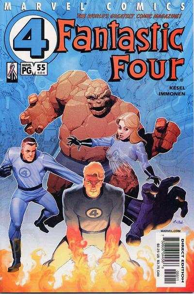 Fantastic Four (1998 series) #55, NM + (Stock photo)
