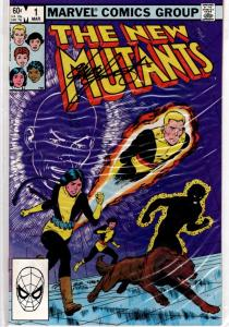NEW MUTANTS #1NM SIGNED CHRIS CLAREMONT WITH (COA) $60.00 #23 OF 25