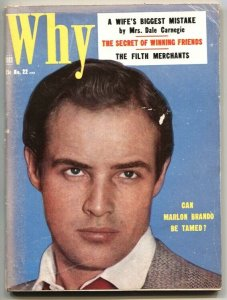 WHY #22-JUNE 1954-KNOCKS HARRISON PUB TITLES-BEAUTY PARADE-WINK-EYEFUL-TITTER