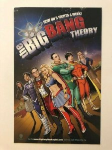 BIG BANG THEORY JUSTICE LEAGUE small poster 6.5x10.5  (A137)