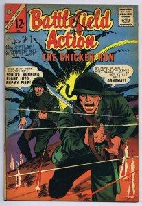 Battlefield Action #58 ORIGINAL Vintage 1965 Charlton Comics