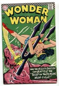 Wonder Woman #171 1967-DC-Demon Man-Fish-VF