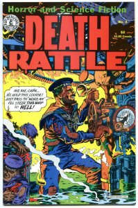 DEATH RATTLE #3, VF, Jaxon, Dead Man's Chest, Bulto Cosmic Slug, 1986
