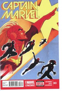 Captain Marvel 3  (2014 series)  9.0 (our highest grade)