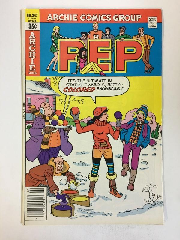 PEP (1940-1987)347 VF-NM Mar 1979 COMICS BOOK