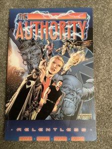 The Authority: Relentless Book 1 Wildstorm   Warren Ellis
