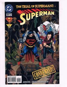Superman #106 VF DC The Trial Of Superman Comic Book Jurgens Rubenstein DE10