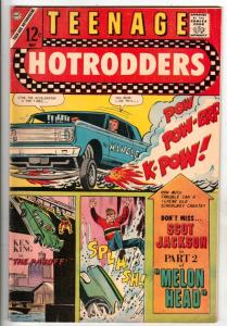 Teenage Hotrodders #23 (May-67) VF+ High-Grade Scot Jackson, Ken King