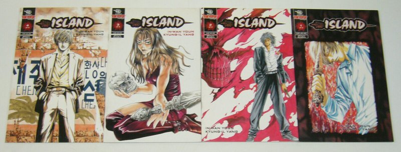 Island #1-4 VF/NM complete series - tokyopop manga comics set 2 3 lot
