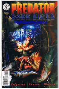 PREDATOR DARK RIVER #1, NM+, Verheiden, Magyar, 1996, more Horror in store