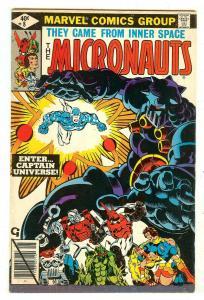 Micronauts 8   1st Captain Universe
