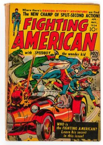 Fighting American (1954 Headline/Prize) #1 GD/VG, Hard to find