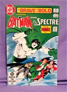 Mike W Barr BRAVE and the BOLD #199 Batman v Spectre Ross Andru (DC, 1983)!