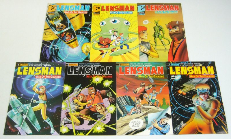 Lensman: War of the Galaxies #1-7 VF/NM complete series based on anime 2 3 4 5 6