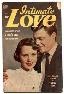 Intimate Love #21 1953- Golden Age romance G/VG