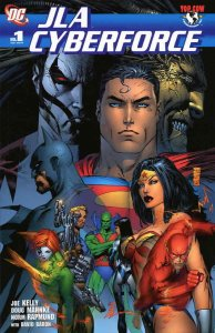 JLA/Cyberforce #1 VF/NM; DC   save on shipping - details inside