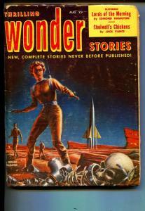 Thrilling Wonder Stories-Pulp-8/1952-Edmond Hamilton-Jack Vance