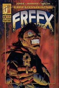Freex #5 VF/NM; Malibu | save on shipping - details inside