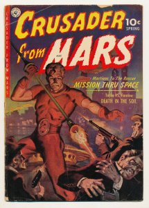 Crusader from Mars (1952 Ziff Davis) #1 GD/VG